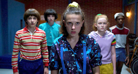 פנאי סדרה דברים מוזרים נטפליקס, צילום: Netflix