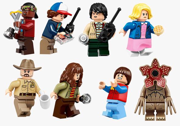 דמויות לגו של גיבורי הסדרה, צילום: LEGO