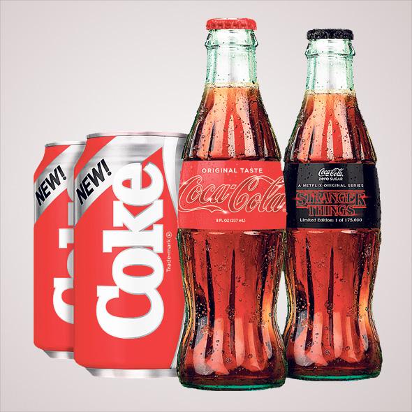 """הוצאה מחודשת של """"ניו קוק"""", הטעם הגנוז של קוקה־קולה מהאייטיז"""