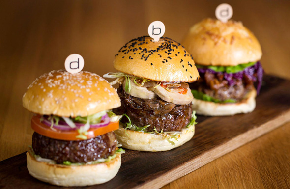 ההמבורגרים של בר בולו, צילום: bar boulud