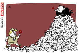 קריקטורה 1.7.19, איור: צח כהן