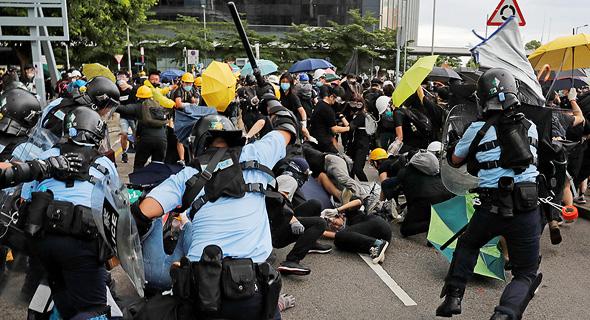 התנגשויות בהונג קונג