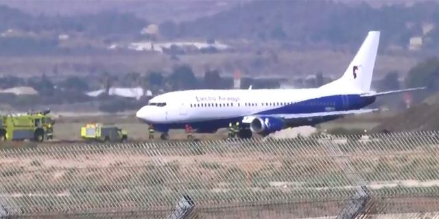 """מטוס """"אלקטרה איירווייז"""" נחת בשלום בנתב""""ג; אחד הנוסעים: """"כשהמראנו כל המטוס רעד"""""""