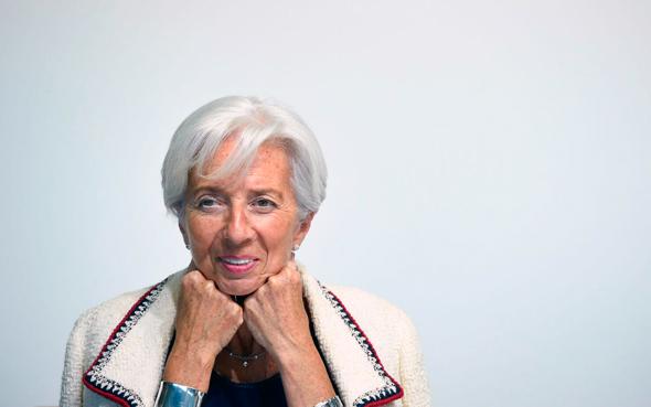 """כריסטין לגארד יו""""ר קרן המטבע הבינלאומית. """"כשהמצב גרוע, ממנים אשה"""", צילום: AFP"""
