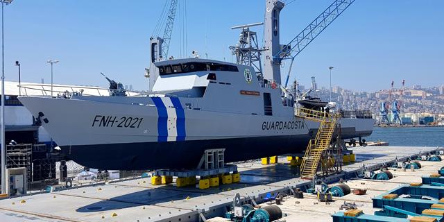 מספנות ישראל חוגגת 60 ומשיקה ספינת סיור חדשה שנבנתה עבור הונדורס