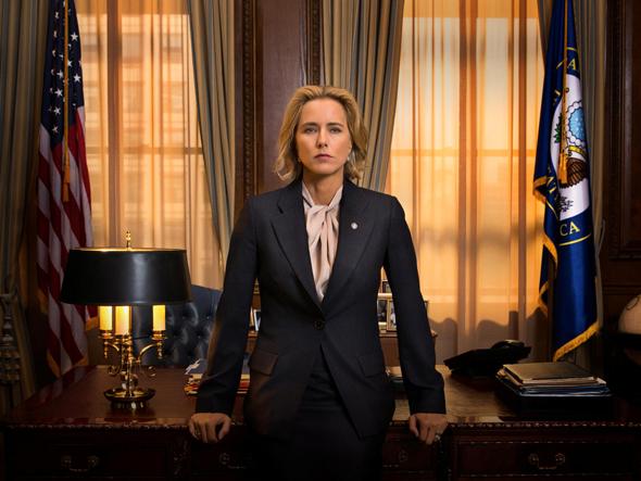 """טיה ליאוני כאליזבת מקורד ב""""מזכירת המדינה"""", צילום: באדיבות YES"""