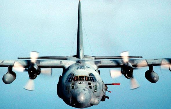 AC-130U בטיסה