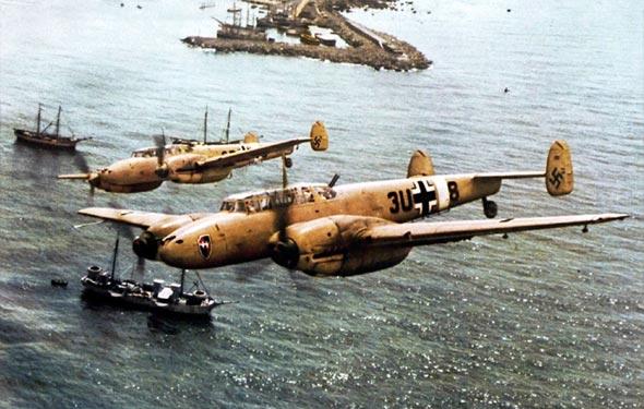 מטוסי מסרשמיט 110