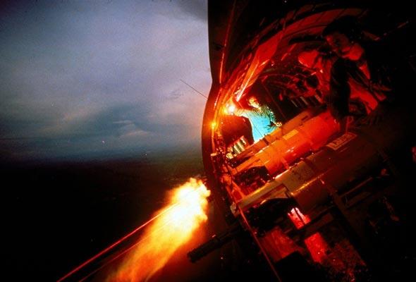 ירי ממטוס AC47