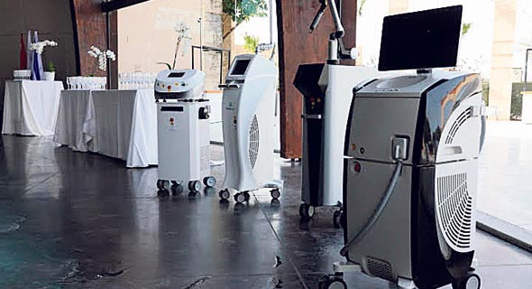 מכשירי אסתטיקה רפואית של אלמה לייזרס. חמישית בתחומה בעולם ומספר 1 בסין
