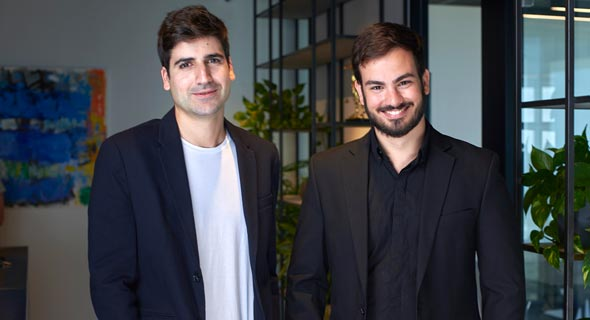 Polyrize co-founders Nati Hazut (left) and Aviv Gabay. Photo: Ben Itzhaki