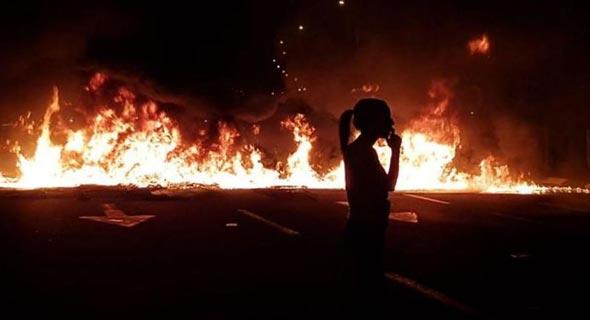 המחאה בצומת קסטינה