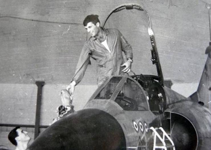 ריכטר כטייס קרב במלחמת יום כיפור. אלוף ההפלות