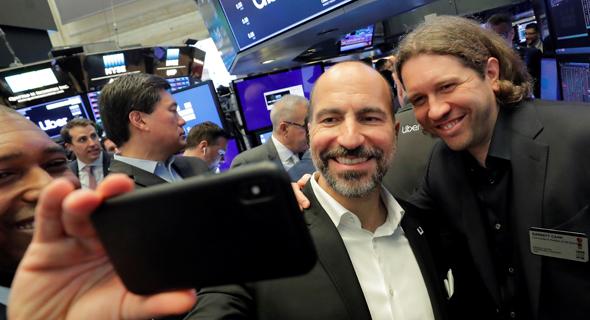 """מימין: גארט קאמפ ממייסדי אובר ומנכ""""ל אובר דארה קוסרשאהי , צילום: UNLIMITED STYLE PHOTOGRAPHY"""