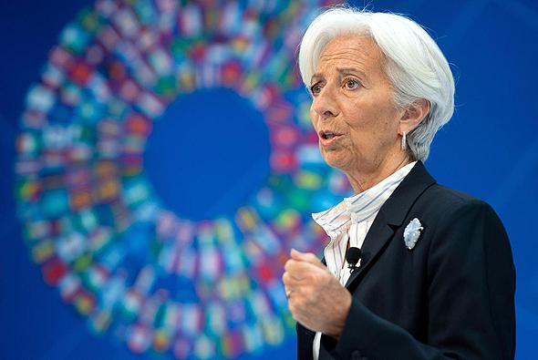 כריסטין לגארד נשיאת הבנק האירופי