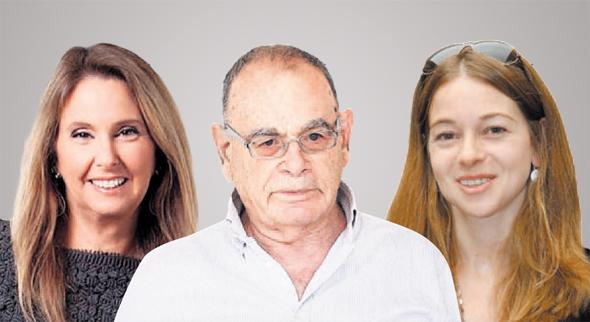 מימין היזמית ליטל גינדי והדיירים איתן רף ו שרי אריסון, צילומים: אוראל כהן