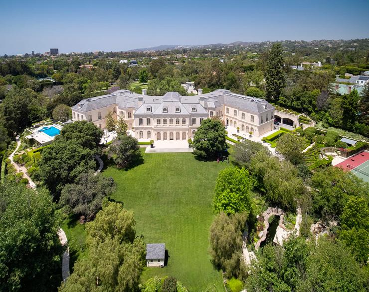 האחוזה של המפיק המנוח ארון ספלינג שנמכרה בכ-120 מיליון דולר, צילום: Hilton Hyland