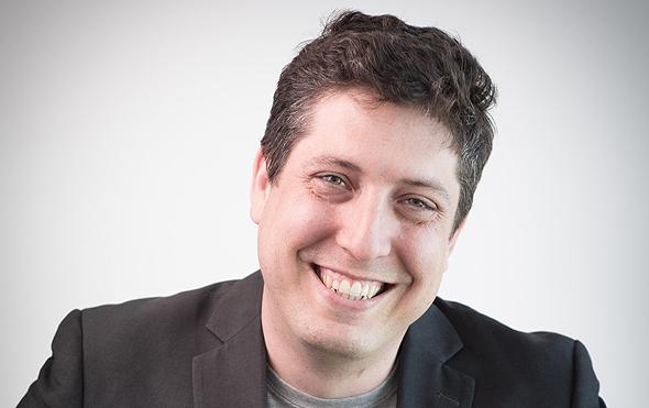 """ד""""ר דוד גולן, מייסד שותף ומנהל הטכנולוגיות ב-Viz.ai, צילום: גיא פלג"""