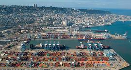 נמל חיפה, צילום: אריאל ורהפטיג