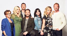 פנאי בוורלי הילס 90210 האיחוד, צילום: Brian Bowen Smith/Fox