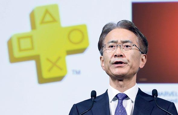 Sony CEO Kenichiro Yoshida. Photo: Bloomberg