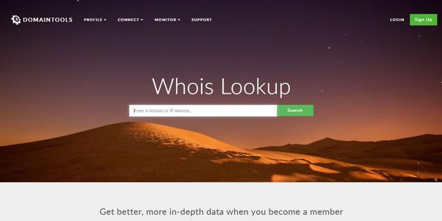 אתר WHOIS, צילום: צילום מסך