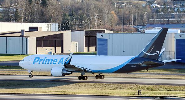 מטוס בואינג 737 של אמזון, צילום: שאטרסטוק