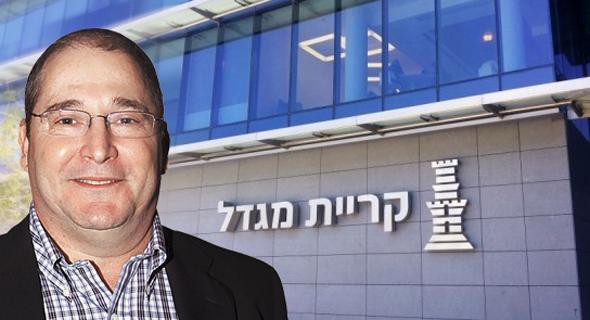 """ניר גלעד יו""""ר חברת ביטוח מגדל, צילום: אלכס קולומויסקי"""
