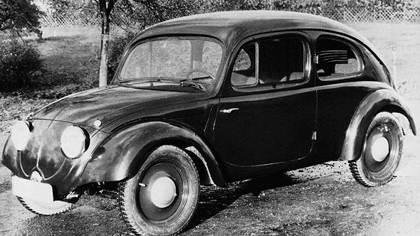 אב טיפוס של החיפושית משנת 1935