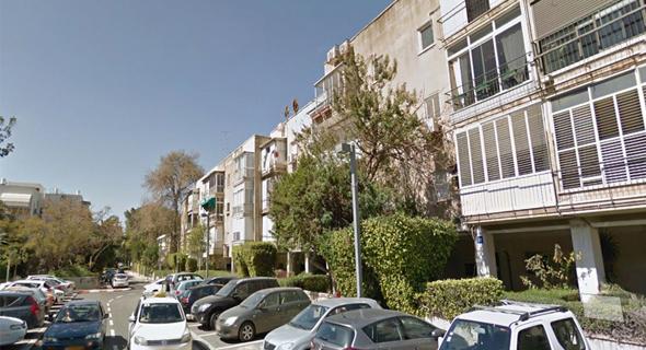 רחוב בני משה בתל אביב , צילום: גוגל סטריט ויו