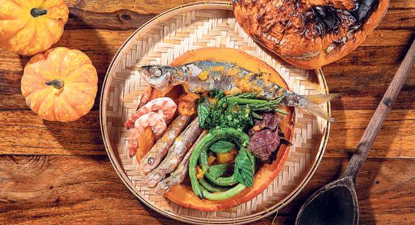 Fish dish with squash and fennel. Photo: Ilya Malenkov