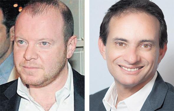 מימין: גיל בלוטרייך ואלכס שניידר