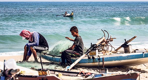 דייגים ברצועת עזה