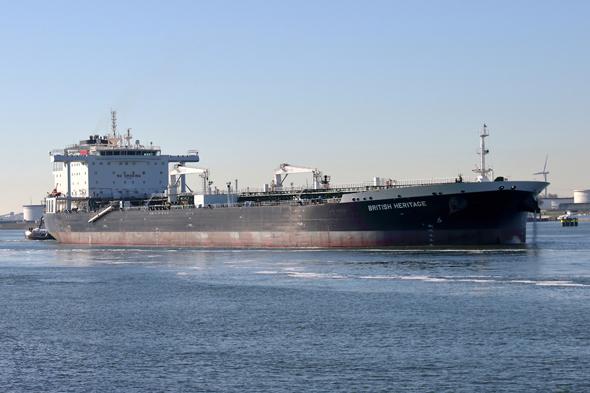 מכלית הנפט הבריטית British Heritage (ארכיון), צילום: shutterstock