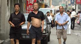ביקיני בייג'ינג גברים חשופים סין אופיר דור, צילום: goldthread