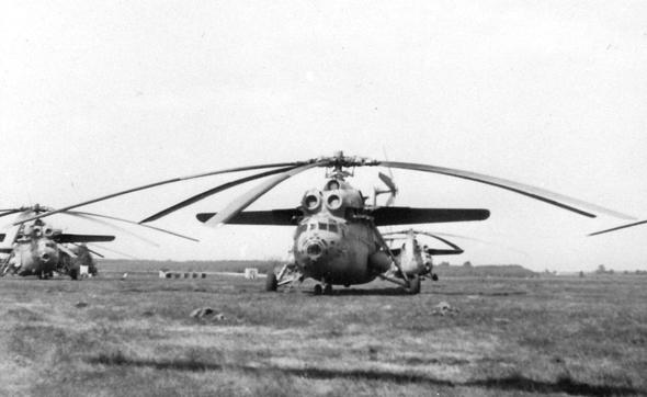 פגיע לקרינה, אך תלוי במשך החשיפה. מסוק Mi6, צילום: Russian Helicopters