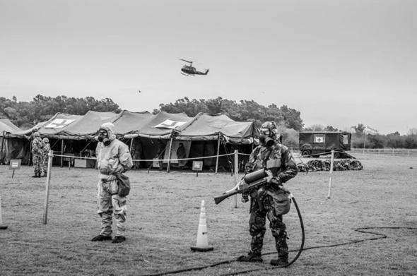 תחנת טיהור רדיואקטיבי בתרגיל אמריקאי, צילום: armytechnologies