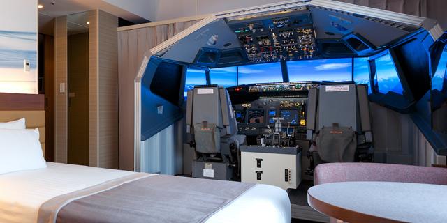 גם אתם יכולים: להטיס מטוס ולא לצאת מהמלון