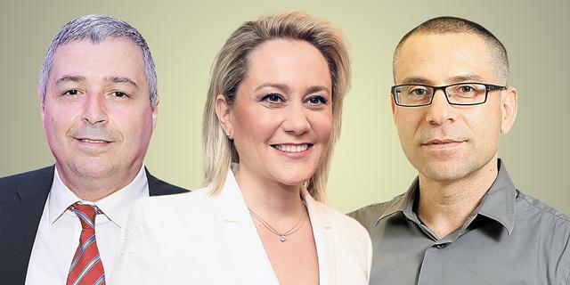 מימין: ערן יעקב, לילך אשר טופילסקי ואריק פינטו, צילומים: אוראל כהן, שאול גולן