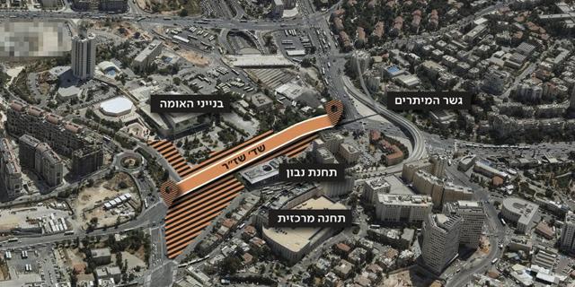 עורק תנועה ראשי בירושלים נסגר הבוקר ל-3 שנים, צפי לפקקי ענק