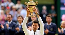 נובאק ג'וקוביץ גמר ווימבלדון טניס גביע, צילום: גטי אימג'ס