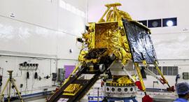 חללית הלווין ההודית צ'אנדראיאן 2, צילום: EPA