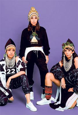 להקת A-WA, צילום: תמיר מוש
