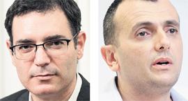 """מימין: שי באב""""ד ומשה בר סימן טוב, צילומים: עמית שעל, אוראל כהן"""