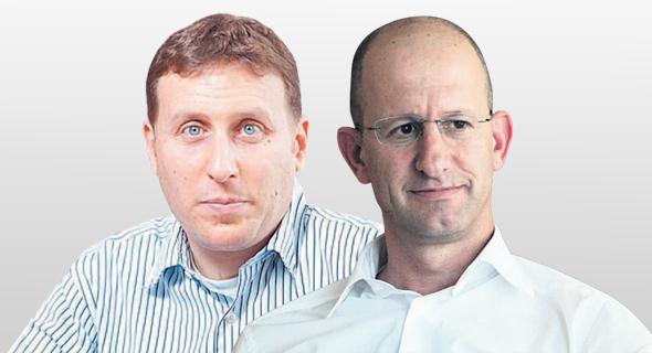 מימין: רוני ברקמן וערן סטפק. מחלוקת על שכר הטרחה