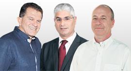 מימין: גולן שרמן ארז יוסף ו יובל גביש, צילומים: יאיר שגיא, סיון פרג'