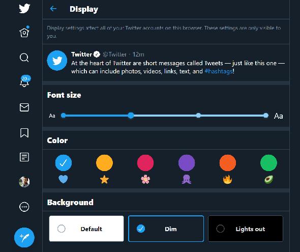 יותר כלים, בסגנון יותר נגיש, צילומי מסך: מטוויטר
