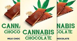 חפיסת שוקולד קנאביס, צילום: multi-i