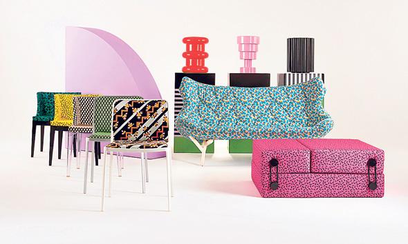 רהיטים של קרטל בעיצוב פטריסיה אורקיולה ופיליפ סטארק