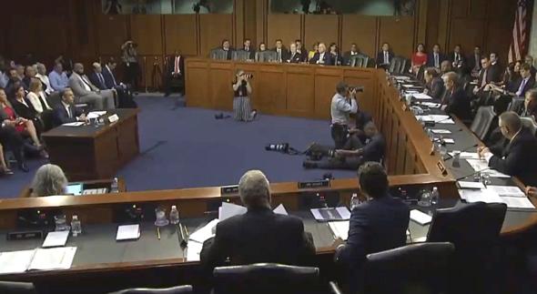 ועדת הבנקאות של הסנאט, צילום: CNBC